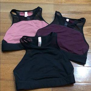VS Pink High Neck Sports Bras